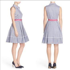 Eliza J Striped Shirtdress 12 Like new